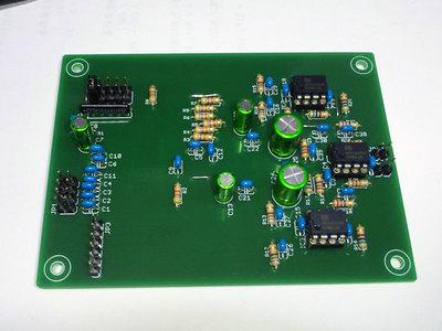 CS8416+PCM1794A DAC基板