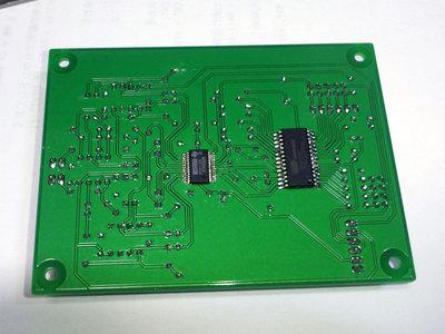 CS8416+PCM1794A DAC基板 裏面