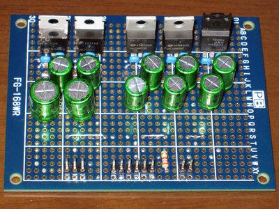 DAC用電源基板