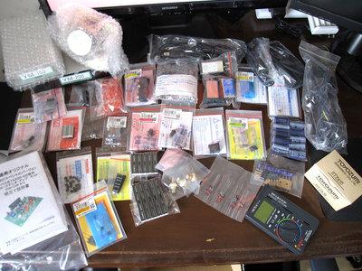 2011年5月に購入した電子部品